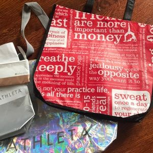 lululemon athletica Bags - Assorted lululemon and Athleta bags